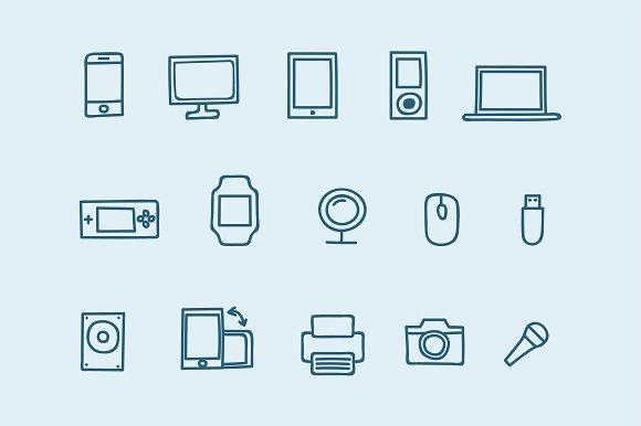 15 Device Doodles