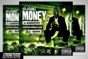 Hip Hop Mixtape Cover