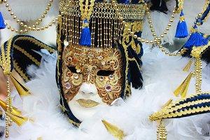 Venice mask carnival mardi gras