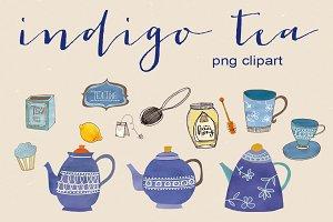 handrawn tea clipart