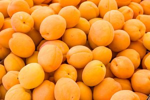 Apricots at the market