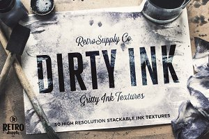 Dirty Ink | Ink Wash Textures