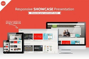 Responsive Showcase Presentation V1