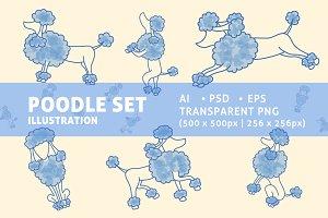 Poodle Set