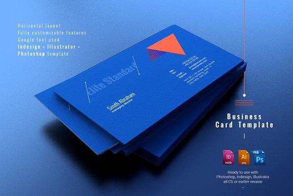elite standard business card business card templates creative market
