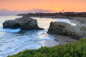 Natural Bridges Sunset