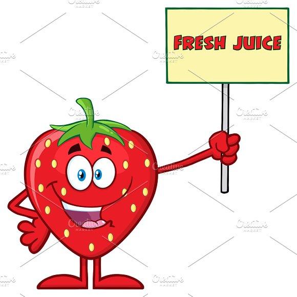 Happy Strawberry Fruit