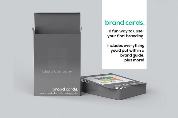 Brand Cards - Business Deck-Graphicriver中文最全的素材分享平台
