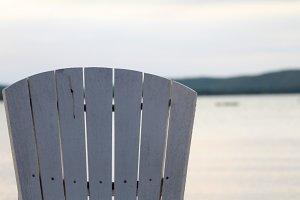 Chair in Evening Light