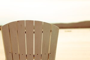 Aged Beach Chair