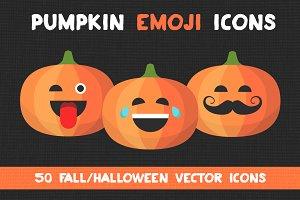 Pumpkin Emoji Icons