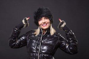 one mature woman 40s portrait