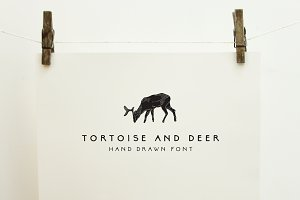 Tortoise and Deer Font Family