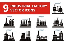 Industrial Factory Icons