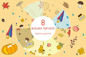 Autumn harvest patterns