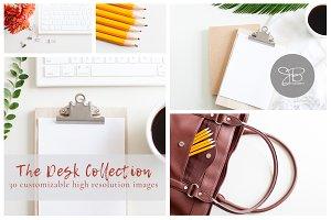Desk Collection Stock Photo Bundle