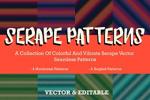 Spanish Serape Seamless Pattern