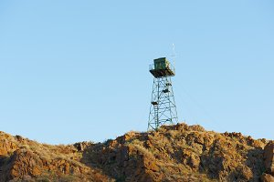 Boundary tower