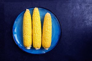 Fresh Yellow Sweet Corn