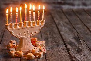 Jewish holiday hannukah