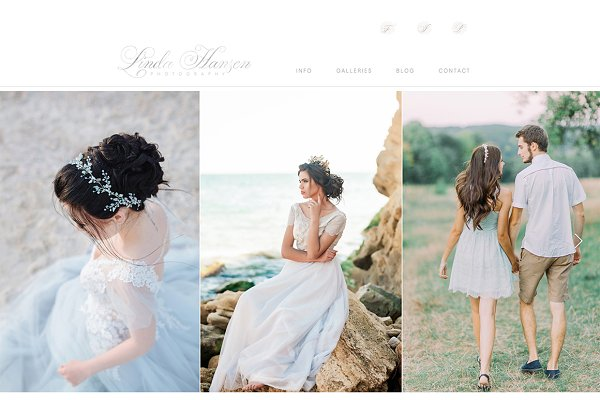 Website Templates: Sunny Blossom Designs - Wix Website Template