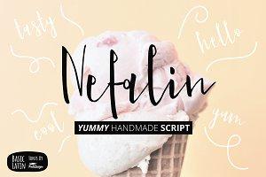 Nefalin Yummy Script Font