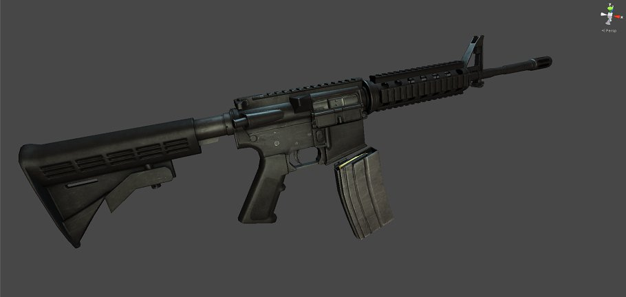 M4A1 in Objects