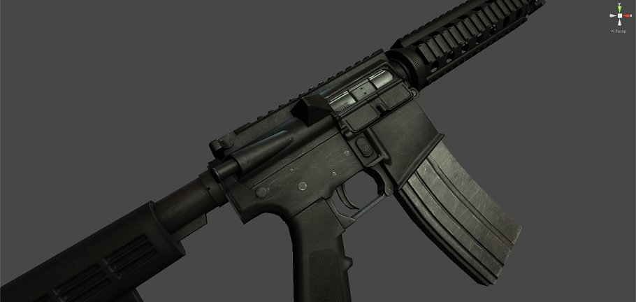 M4A1 in Objects - product preview 1