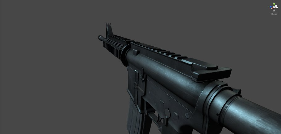 M4A1 in Objects - product preview 2