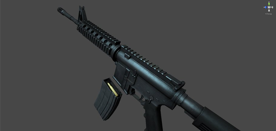 M4A1 in Objects - product preview 3