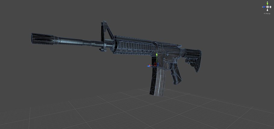 M4A1 in Objects - product preview 4