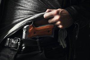 Illegal possession of gun