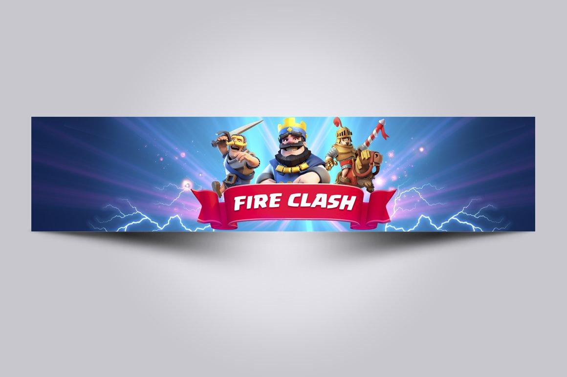 Clash Royale Channel Art