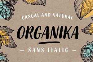 Organika Sans Italic