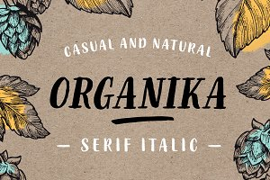 Organika Serif Italic