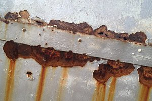 Rusted Plate