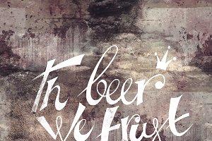In beer we trust | JPEG