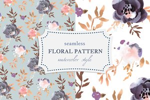 Tender Floral Seamless Pattern