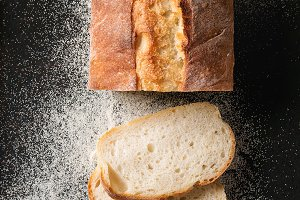 Fresh baked wheat bread