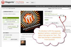 Magento Partial Payment Extension
