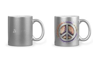 Silver Coffee Mug Sublimation