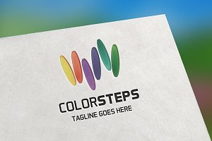 Color Steps Logo