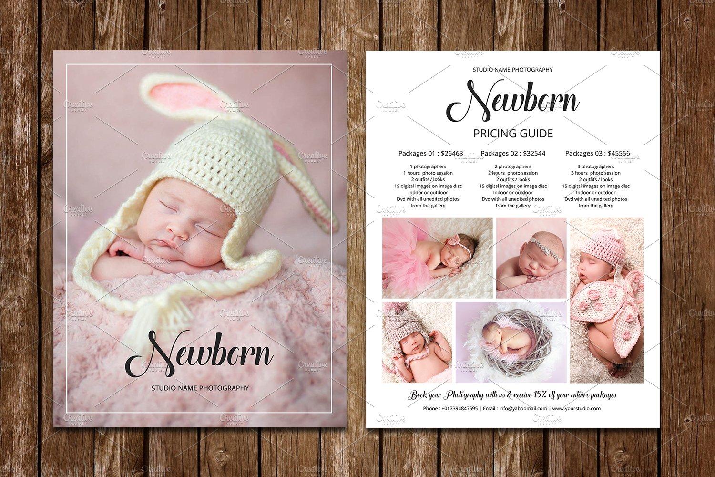 Newborn Photography Price List V618 ~ Flyer Templates