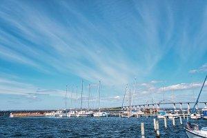 Rudkobing harbor Langeland