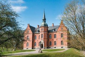 Skovsgaard manor on Langeland