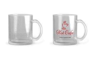 Tranparent Glass Coffee Mug