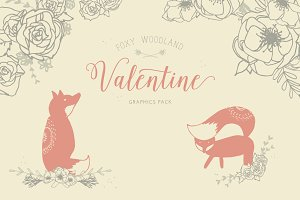 Foxy Woodland Valentine Collection