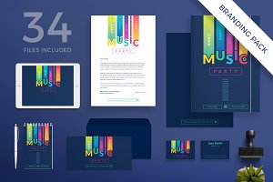 Branding Pack | Music Party