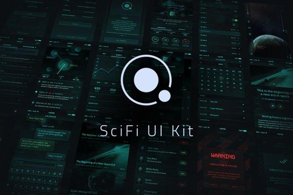 Orbit SciFi UI Kit