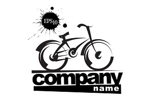 Sign bicycle company